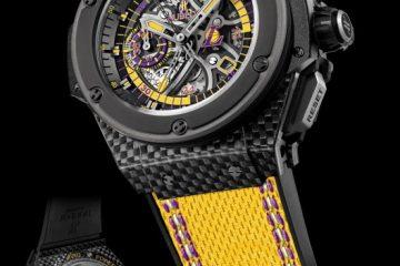 "Hublot King Power ""Los Angeles Lakers"" replica watch"