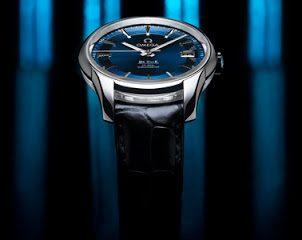 Swiss-made Omega Hour Vision Blue watch replica