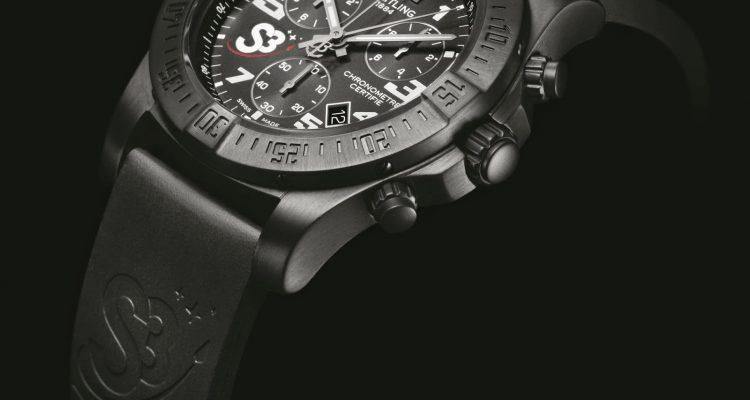 mens Breitling S3 ZeroG Chronograph replica