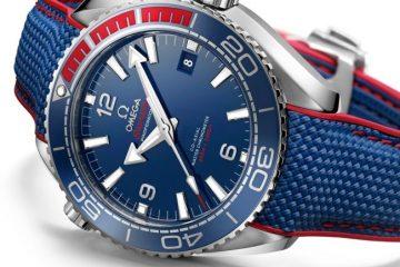 "Omega Seamaster Planet Ocean ""PyeongChang 2018"" watch replica"
