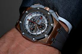 Audemars Piguet Royal Oak Offshore Chrono Michael Schumacher watch