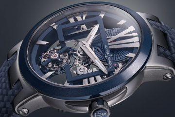 Ulysse Nardin Executive Skeleton Tourbillon Blue Watch Watch Releases