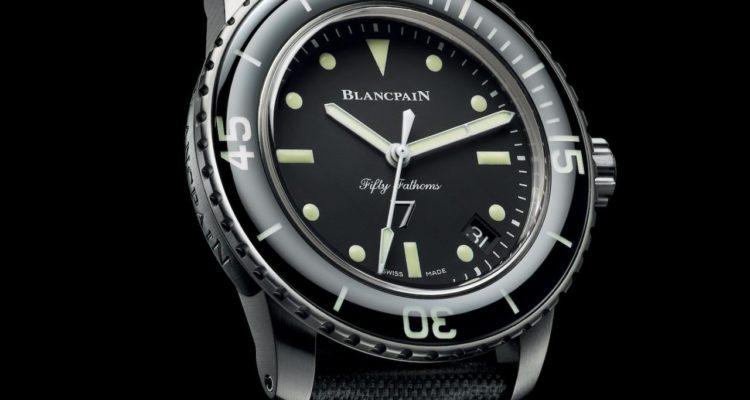 Blancpain Fifty Fathoms Nageurs De Combat Replica Watches